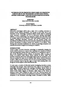 determinants of perceived usefulness and perceived ease of ... - Core