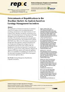 Determinants of Republications in the Brazilian Market: An Analysis ...