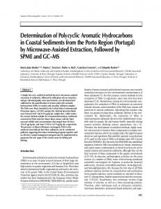 Determination of Polycyclic Aromatic Hydrocarbons in Coastal ...