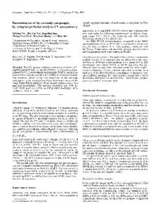 Determination of six aromatic compounds by using ...