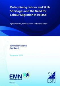 Determining Labour and Skills Shortages and the Need for Labour ...