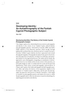 Developing Identity: An Autoethnography of the ...