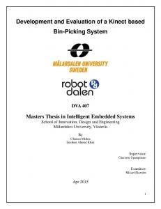 Development and Evaluation of a Kinect based Bin-Picking System