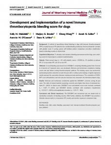Development and implementation of a novel ... - Wiley Online Library