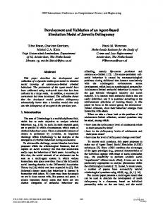 Development and Validation of an Agent-Based Simulation Model of
