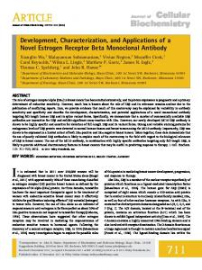 Development, characterization, and applications ... - Wiley Online Library