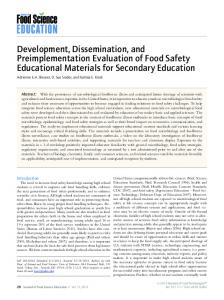Development, Dissemination, and ... - Wiley Online Library