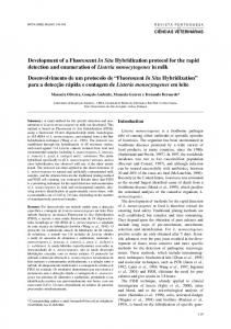 Development of a Fluorescent In Situ Hybridization protocol for the ...