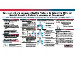 Development of a Language Routing Protocol to Determine Bilingual