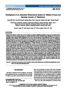 Development of an Automated Measurement System ... - ScienceCentral