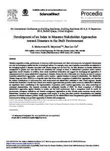 Development of an Index to Measure Stakeholder Approaches ...www.researchgate.net › publication › fulltext › Developm
