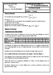 Devoir de synthese n 1 (08) - edunet