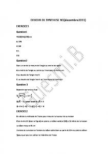DEVOIR DE SYNTHESE N1(decembre2011)