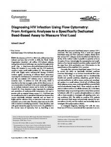Diagnosing HIV infection using flow cytometry - Wiley Online Library