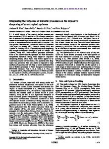 Diagnosing the influence of diabatic processes ... - Wiley Online Library
