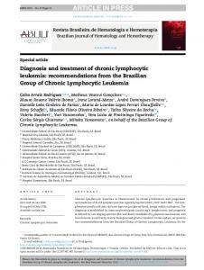 Diagnosis and treatment of chronic lymphocytic