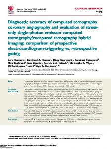 Diagnostic accuracy of computed tomography coronary angiography ...