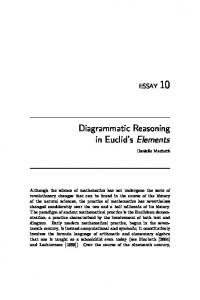 Diagrammatic Reasoning in Euclid's Elements