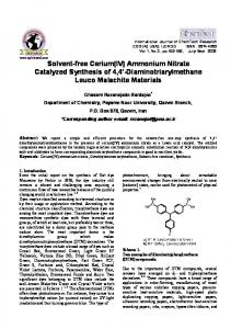 diaminotriarylmethane leuco materials under solvent-free con