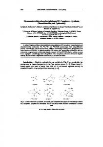 Diamminetetrakis(carboxylato)platinum(IV ... - Wiley Online Library