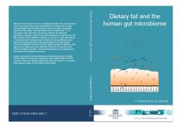 Dietary fat and the human gut microbiome