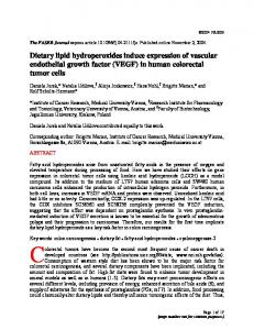 Dietary lipid hydroperoxides induce expression of ... - CiteSeerX