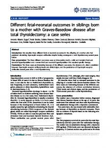 Different fetal-neonatal outcomes in siblings born