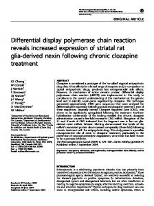 Differential display polymerase chain reaction reveals ... - Nature