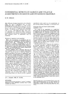 differential effects of gaseous and volatile ... - Semantic Scholar