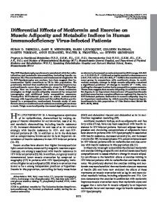 Differential Effects of Metformin and Exercise on Muscle Adiposity and ...