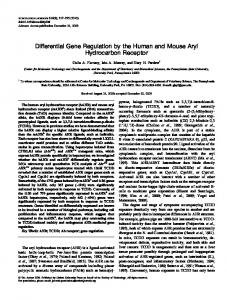 Differential Gene Regulation by the Human and ... - Oxford Journals