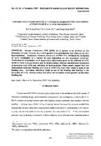 Differential inhibition of aflatoxin B1 oxidation by ... - Wiley Online Library
