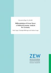 Differentiation of Green Taxes: A Political ... - FTP Directory Listing - ZEW