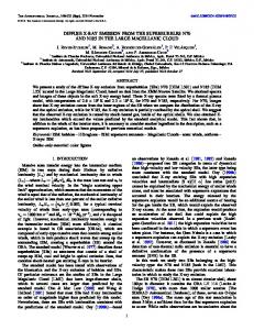 diffuse x-ray emission from the superbubbles n70 and ... - IOPscience