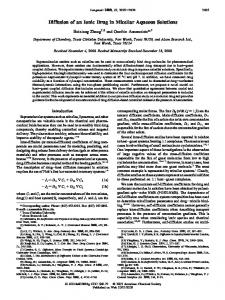Diffusion of an Ionic Drug in Micellar Aqueous Solutions