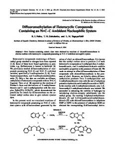 Difluoromethylation of Heterocyclic Compounds ... - Springer Link