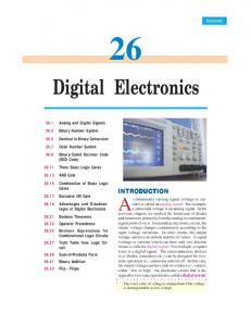 Digital Electronics - Talking Electronics