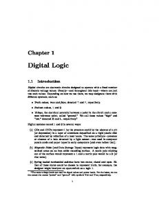 Digital Logic - Computer Science