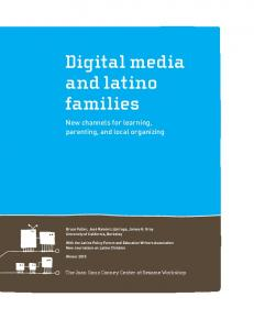 Digital Media and Latino Families - Eric