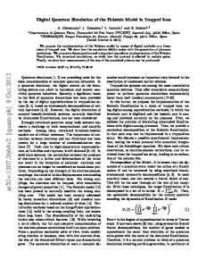 Digital Quantum Simulation of the Holstein Model in Trapped Ions
