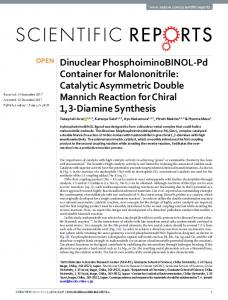 Dinuclear PhosphoiminoBINOL-Pd Container for
