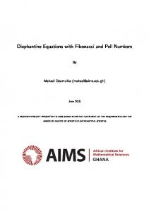 Diophantine Equations with Fibonacci and Pell Numbers