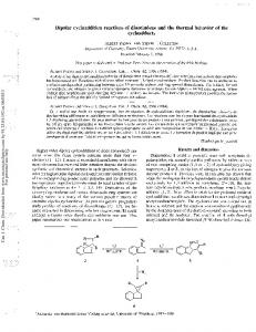 Dipolar cycloaddition reactions of diazoindene and
