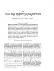 Diptera: Psychodidae - Oxford Journals