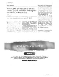 Direct Access to Medline - Europe PMC