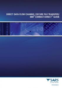 DIRECT DATA FLOW CHANNEL (SECURE FILE TRANSFER)/ IBM ...