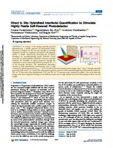 Direct In Situ Hybridized Interfacial Quantification to