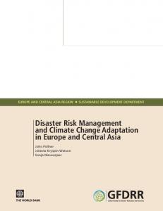 Disaster Risk Management and Climate Change ... - PreventionWeb