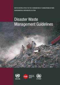 Disaster Waste Management Guidelines