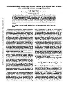 Discontinuous classical ground state magnetic response as an even